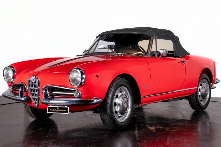 1962 Alfa Romeo Giulietta Spider 0