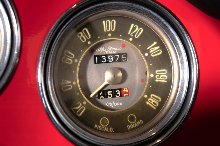 1962 Alfa Romeo Giulietta Spider 24
