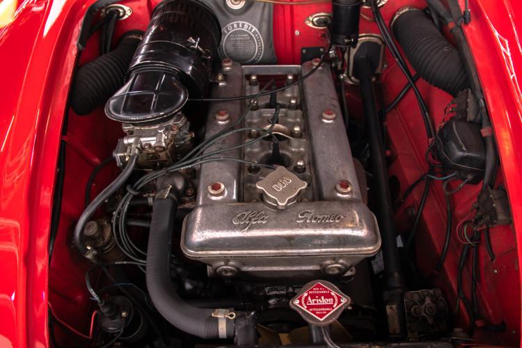 1962 Alfa Romeo Giulietta Spider 39