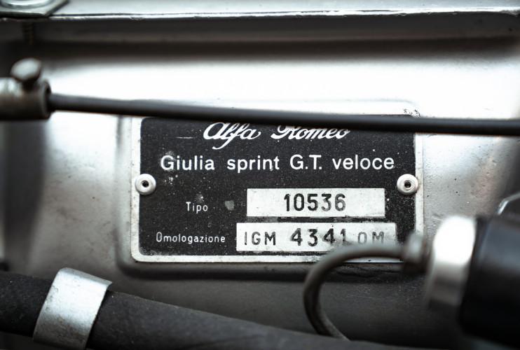 1967 Alfa Romeo Giulia Sprint GT 1600 53