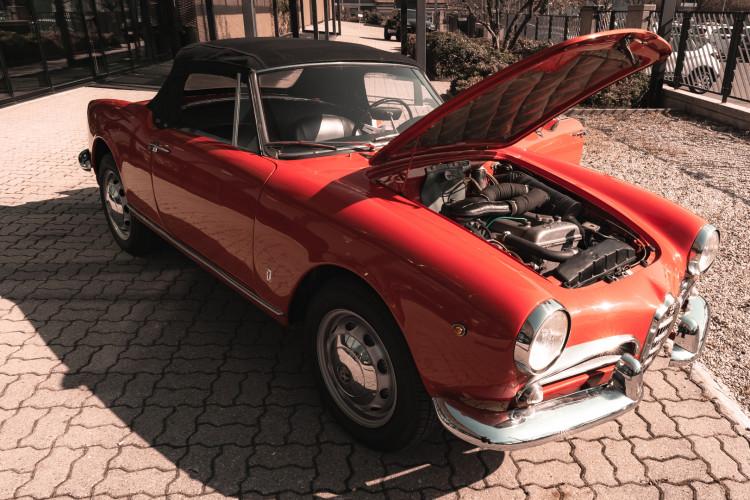 1963 Alfa Romeo Giulia Spider  40