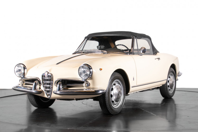 1959 Alfa Romeo Giulietta spider 35