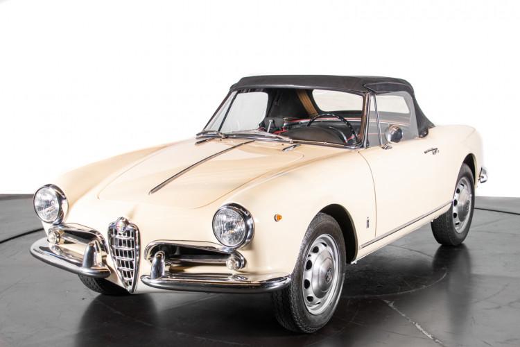 1959 Alfa Romeo Giulietta spider 36
