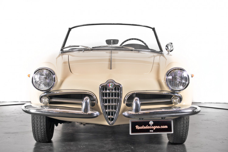 1959 Alfa Romeo Giulietta spider 1