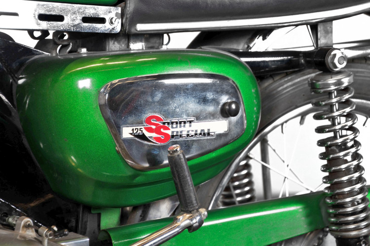 1975 Benelli Sport Special 125 4T 4