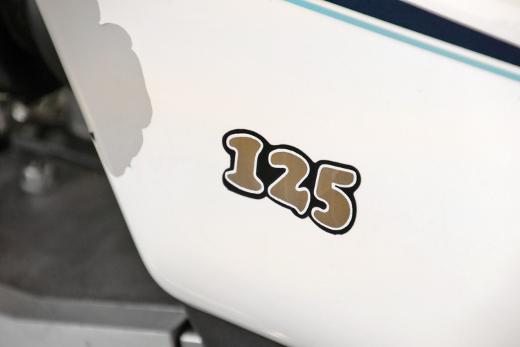 1987 Benelli 125 CUSTOM 9