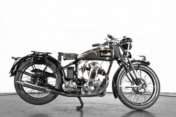 1938 Benelli 250 4