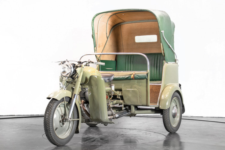 1956 Benelli Leoncino Rikshaws 1
