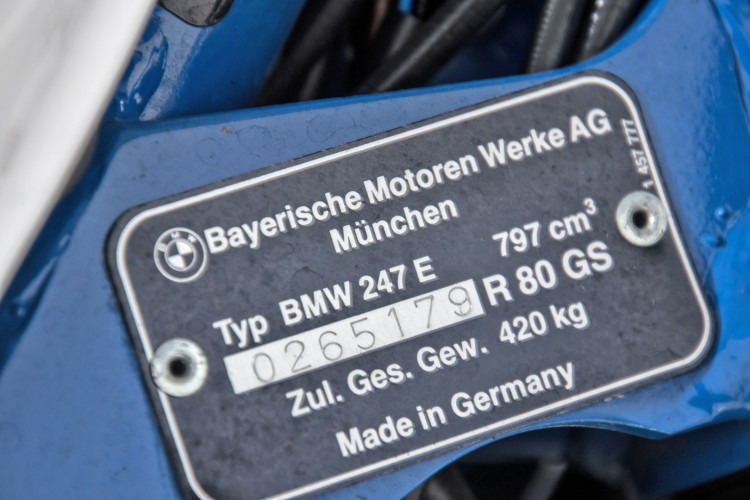 1998 BMW R80 GS Basic 10