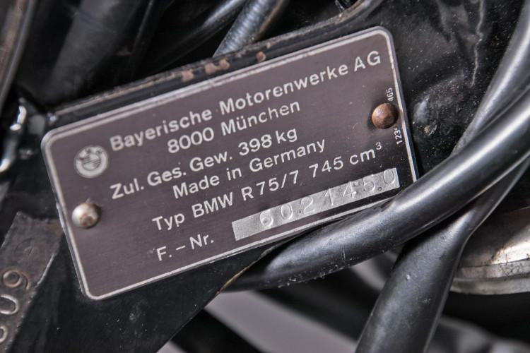 1977 BMW R75 / 7 15