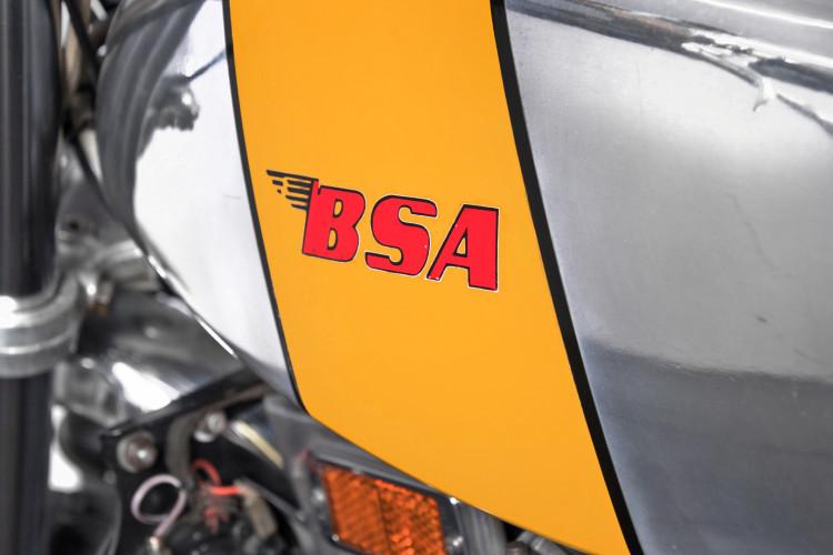 1972 BSA 500 11