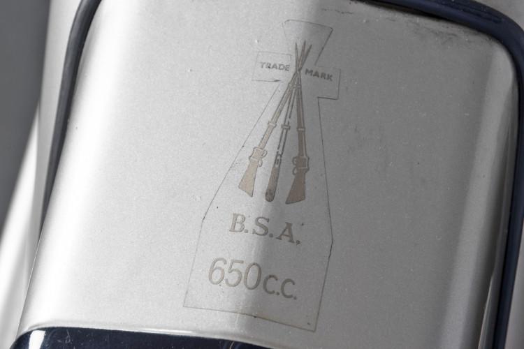 1960 BSA Golden Flash 650 13