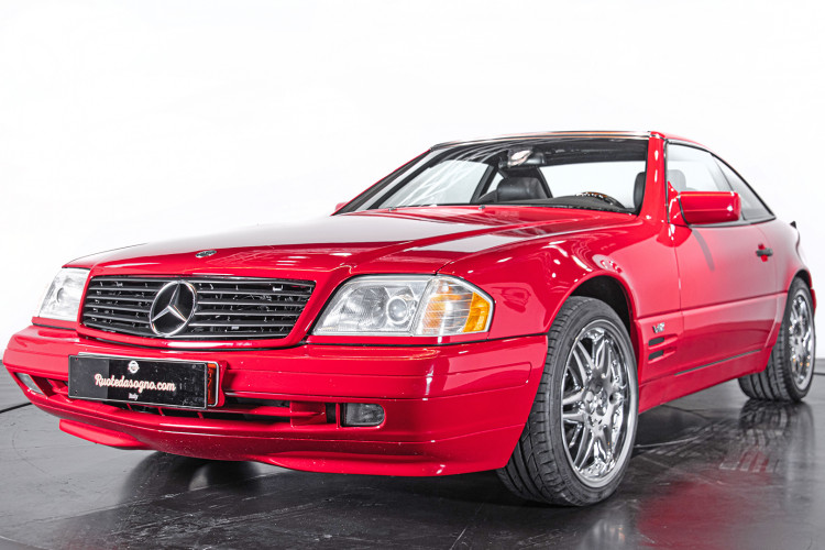 1998 Mercedes Benz 600 SL 0