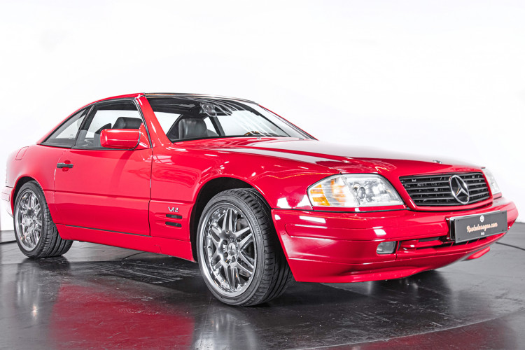 1998 Mercedes Benz 600 SL 6
