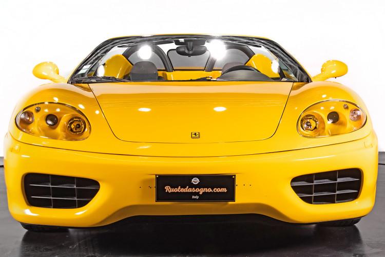 """2001 Ferrari 360 Spider """"Manuale"""" 13"""