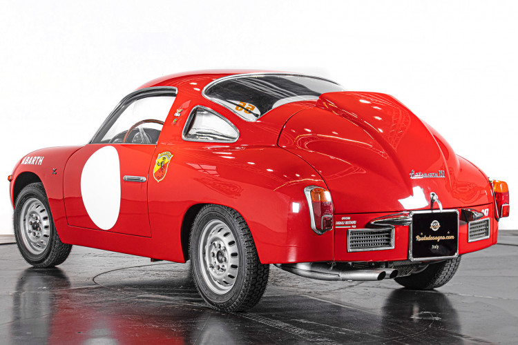 """1960 Fiat Abarth 750/850 Bialbero Record Monza """"Competizione""""  6"""