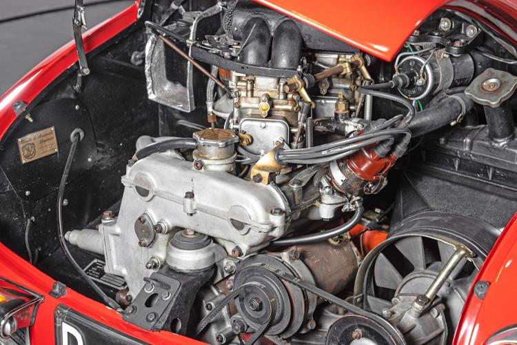 """1960 Fiat Abarth 750/850 Bialbero Record Monza """"Competizione""""  39"""