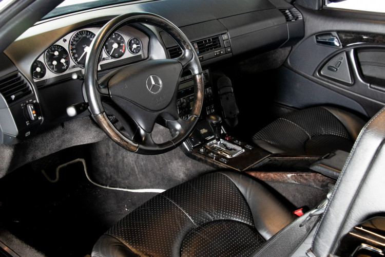 2000 Mercedes Benz SL500 Blue Edition 21
