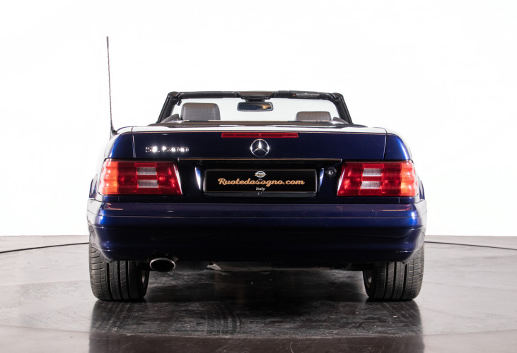2000 Mercedes Benz SL500 Blue Edition 4
