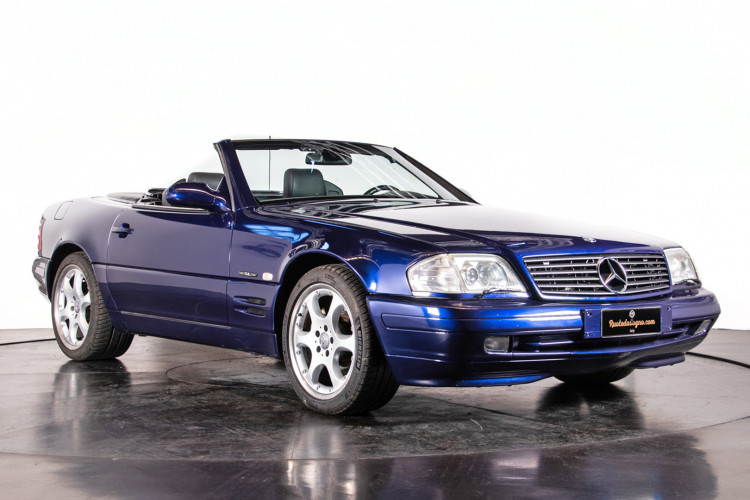 2000 Mercedes Benz SL500 SL Edition 5