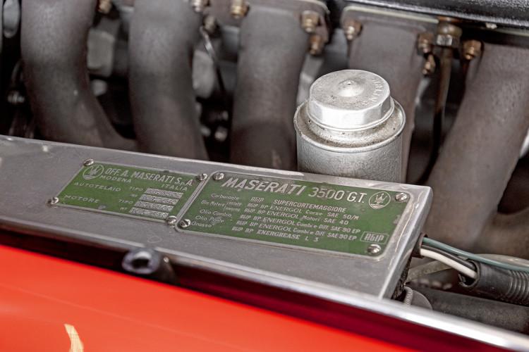 1964 MASERATI 3500 GTi 45