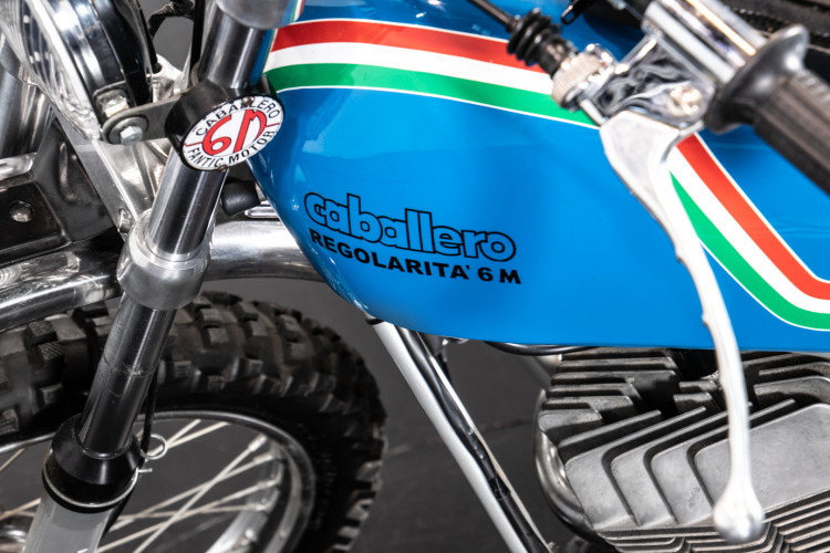 1973 Fantic Motor Regolarità 6M TX96 12