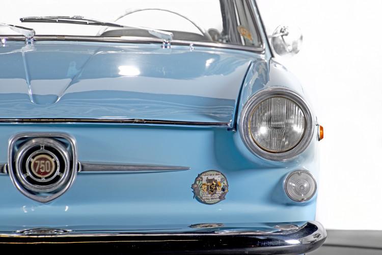 1962 FIAT 750 VIGNALE 10