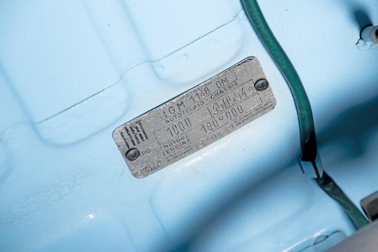 1962 FIAT 750 VIGNALE 42