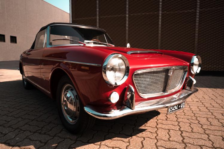 1962 Fiat 1200 Cabriolet Pininfarina 5