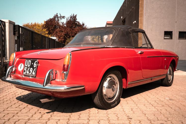 1962 Fiat 1200 Cabriolet Pininfarina 3