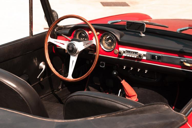 1962 Fiat 1200 Cabriolet Pininfarina 37