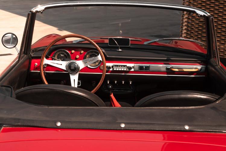 1962 Fiat 1200 Cabriolet Pininfarina 38