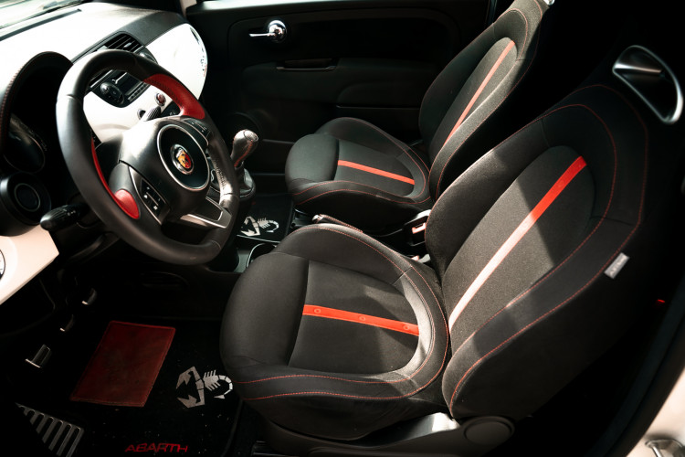 2009 Fiat abarth 500 12