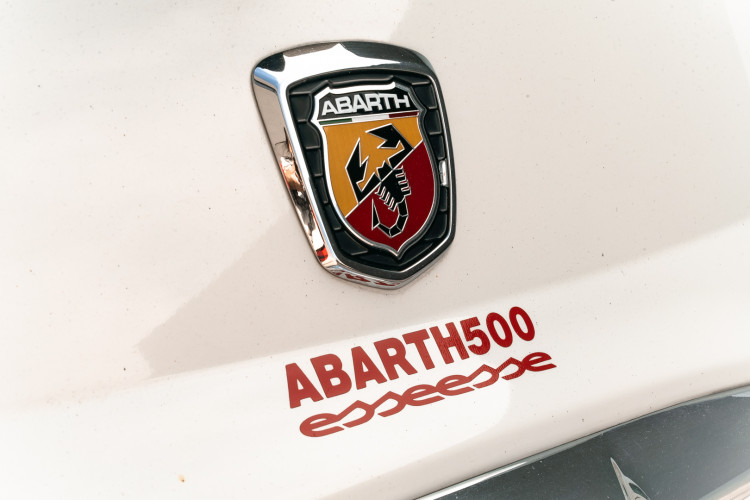 2009 Fiat abarth 500 8