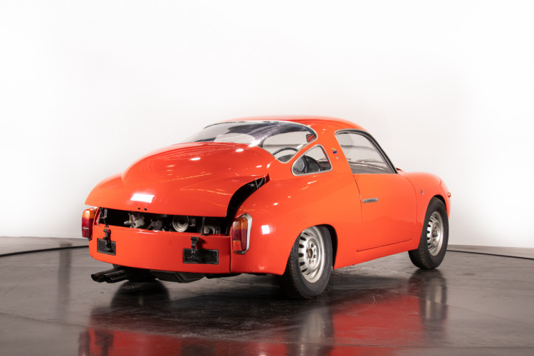 1960 Fiat Abarth 750 Bialbero record Monza 4
