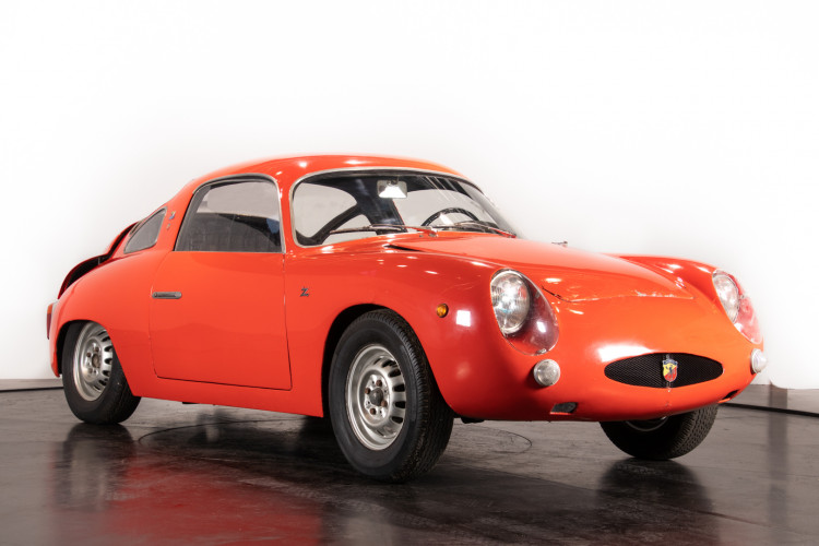1960 Fiat Abarth 750 Bialbero record Monza 6