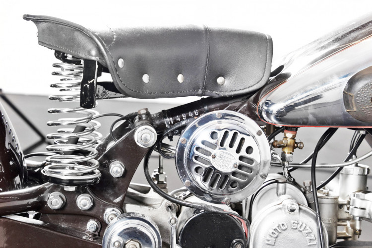 1951 Moto Guzzi 500 10