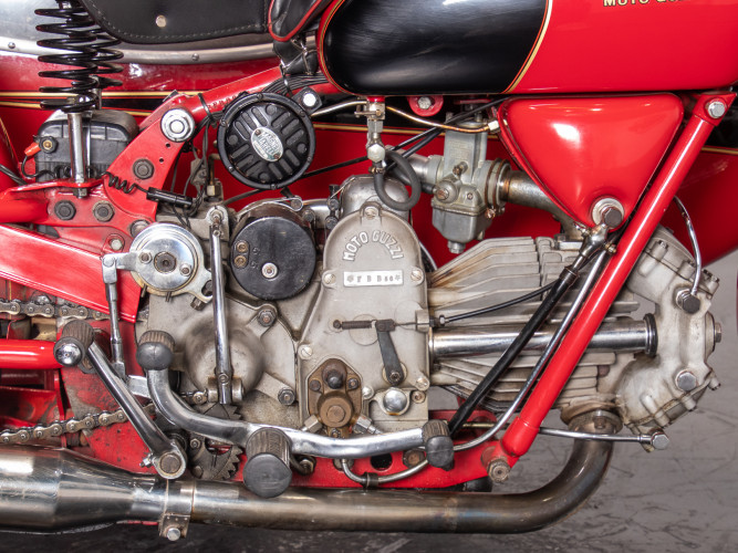 1975 Moto Guzzi 500 FS Sidecar 30