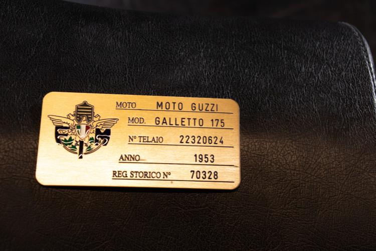 1954 moto guzzi galletto 175 12