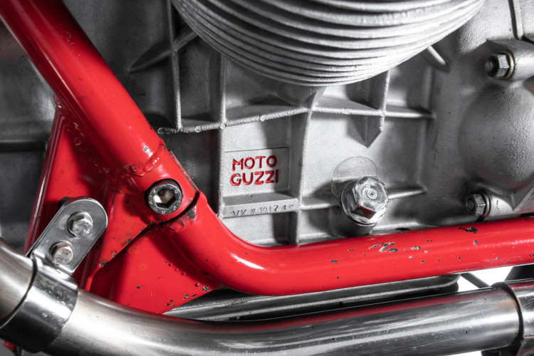 1972 Moto Guzzi V7 Sport Telaio Rosso 24