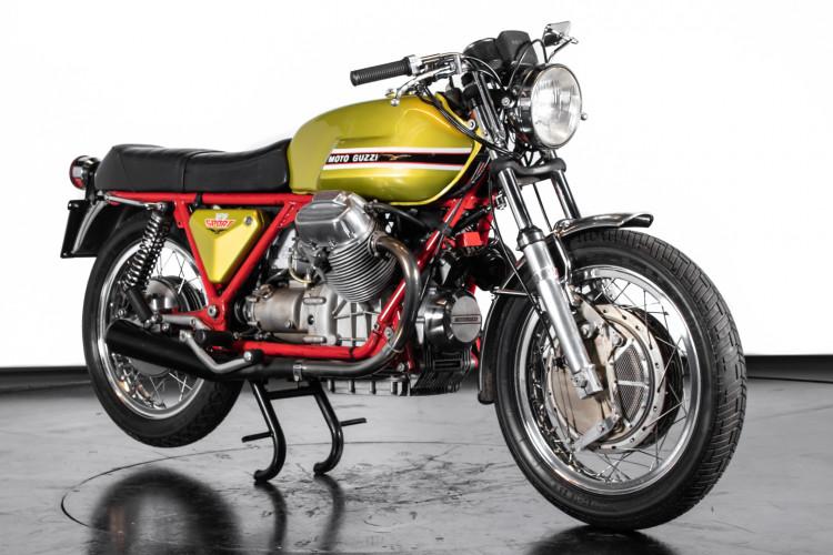 1972 Moto Guzzi V7 Sport Telaio Rosso 3