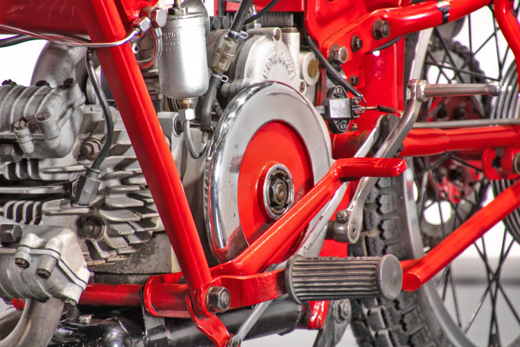 1950 Moto Guzzi 250 14