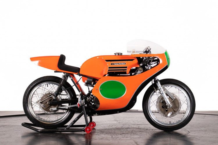 1974 HARLEY DAVIDSON 250 RR 8