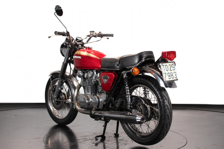 1973 Honda CB 450 5