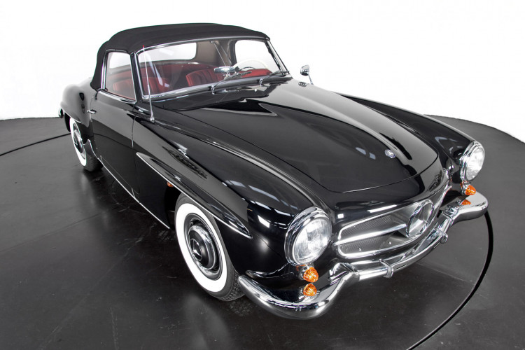 1961 Mercedes-Benz 190 SL 32