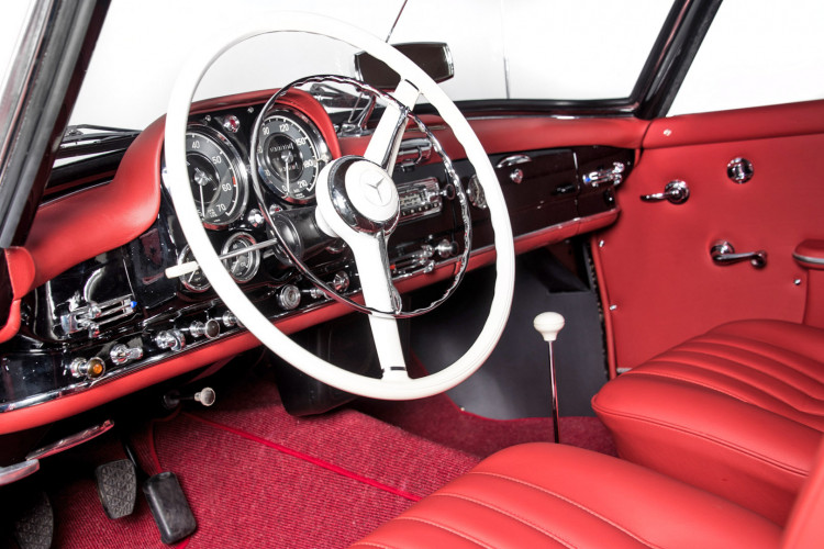 1961 Mercedes-Benz 190 SL 22