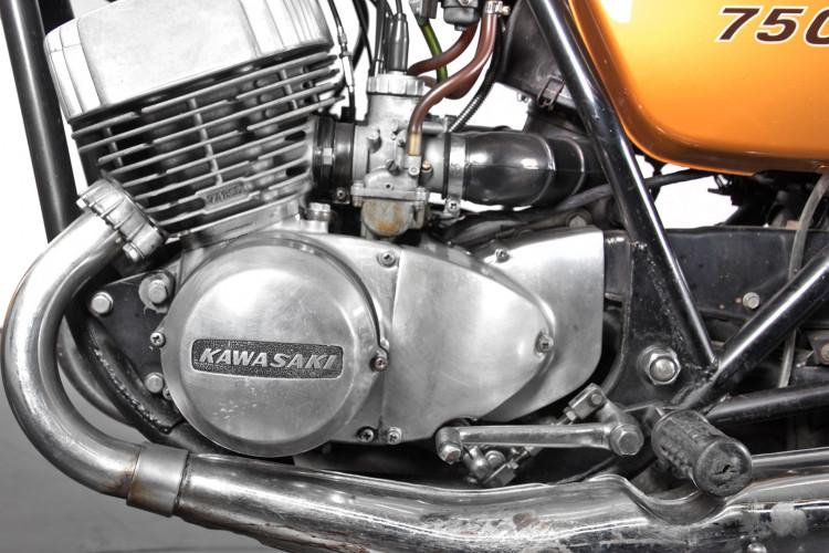 1972 Kawasaki 750 6