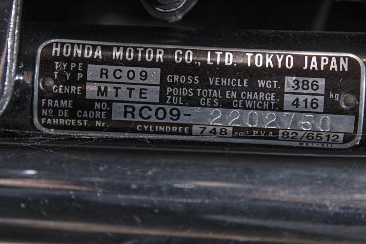 1986 Honda VF 750 Custom 16