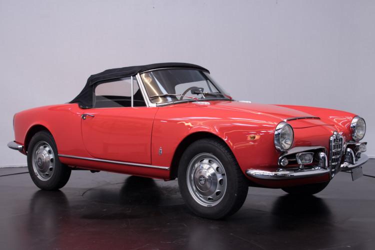1964 Alfa Romeo Giulia 1600 Spider 8