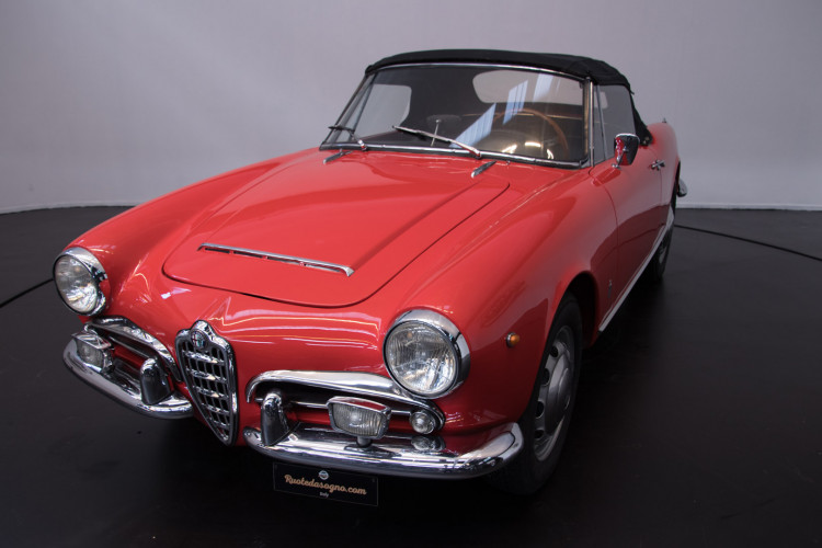 1964 Alfa Romeo Giulia 1600 Spider 1